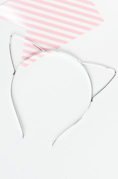 Hear Meow-t Headband In Silver
