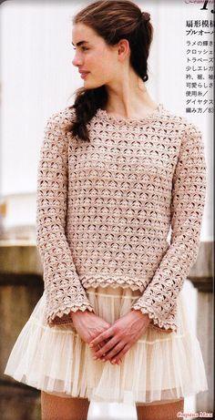 Interesting crochet pattern