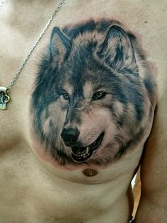 nice 11 Designs Ideas For Wolf Tattoos