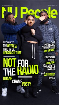 #NFTR | Duane, Chams, & Posty | February/March 2016 #NUPeople