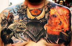 LOTR Tattoo for @Tricia Leach Griffith