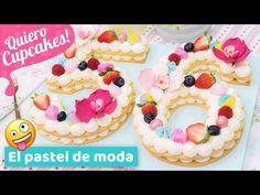 PASTEL DE NÚMEROS | Tendencia 2018 | Quiero Cupcakes! - YouTube