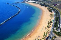 Playa de las Teresitas, Tenerife by tenerife holidays, via Flickr