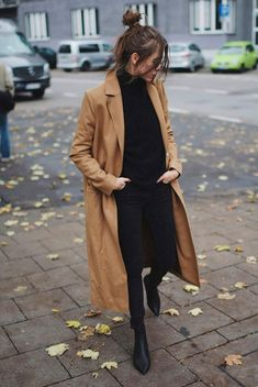 winter outfits coat A Classy Winter Outfit Formula - winteroutfits Winter Outfits For Teen Girls, Classy Winter Outfits, Classy Casual, Simple Outfits, Fall Outfits, Casual Winter, Black Outfits, Work Outfits, Classy Style Outfits