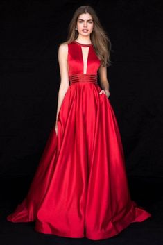 Glamour exudes when you wear this regal Sherri Hill prom dress 51802 to this years senior prom. Offered in a variety of beautiful satin colors this spe. Sherri Hill Prom Dresses, Homecoming Dresses, Bridesmaid Dresses, Trendy Dresses, Nice Dresses, Event Dresses, Formal Gowns, Dress Formal, Beautiful Gowns