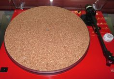 "Turntable Toys TC-8 Cork Audiophile Turntable Mat (1/8"") for Rega Clearaudio VPI AR Marantz Denon Pioneer Audio-Techinca Music-Hall Sansui"