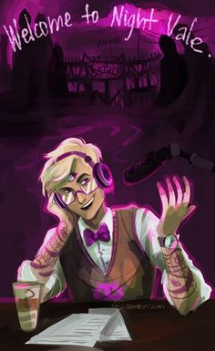 Welcome to Night Vale. I have never heard of this until now but it's a really interesting podcast. I listened to the first one and it's definitely a little creepy if you're into that sort of thing.