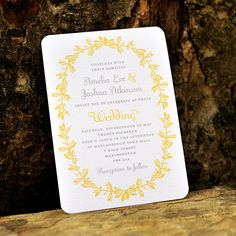 Antique French Wedding Invitation  'Vintage by twoforjoypaper