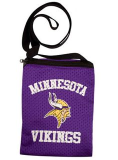 JERSEY GAME DAY VIKINGS POUCH