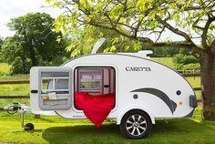Comprar Mini Caravana Caretta 1500 Experience. Tienda especializada en Mini Caravanas estilo Teardrop en España. Las mejores caravanas pequeñas.