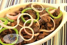 bistek recipe or filipino beef steak