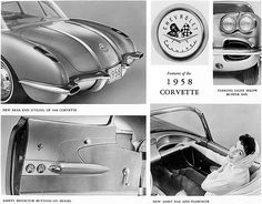 1958 Corvette Fact Sheet