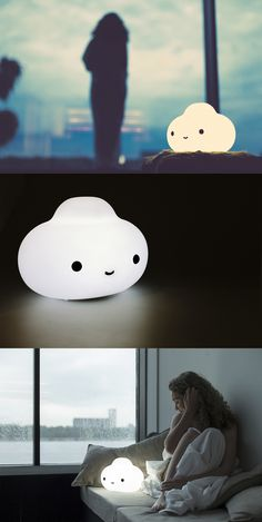 Little Cloud Lamp - bring the happiest, battery powered, light everywhere you go.