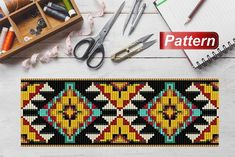 Pink flower pattern peyote bracelet patterns Floral pattern peyote stitch peyote bead bracelet pattern even count peyote tutorial bracelet Indian Patterns, Tribal Patterns, Peyote Patterns, Loom Patterns, Bracelet Patterns, Beading Patterns, Flower Patterns, Square Patterns, Rugs