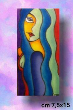 """Ragazza Stilizzata 5"" Vendita Online www.arte-frart.it"