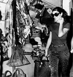 Jacqueline Kennedy in Capri,1969.