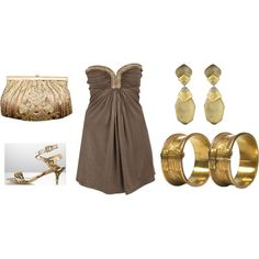 An evening out...O'keeffe Jewelry is the Inspiration!, created by peridotsgarden on Polyvore