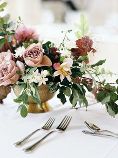 Botanical Wedding Inspiration in Brooklyn #weddingflowers