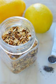 Lemon Poppy Seed Granola
