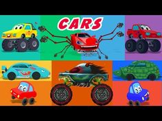Cars Nursery Rhymes And Stories Compilation - YouTube