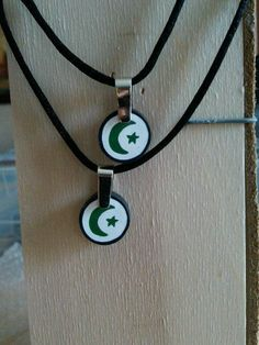 Crescent Star Necklace  Style A by MyIslamicLife on Etsy