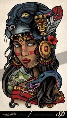 This is a side (torso) tattoo I designed for Heather Lynn. Puma, Pather Inca Gir… This is a side (torso) tattoo I designed for Heather Lynn. Copyright www. Torso Tattoos, Side Tattoos, Body Art Tattoos, Tattoo Drawings, Sleeve Tattoos, Henna Tattoos, Jaguar Tattoo, Tatto Old, Tatoo Art