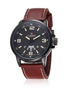 X&D neue Marke Mode für Männer Sportuhren Herren-Quarz-Stunden-Tag Uhr Mann Lederarmband militärischen Armee wasserdichte Armbanduhr , black - http://uhr.haus/modeschule/x-d-neue-marke-mode-fuer-maenner-sportuhren-herren-2