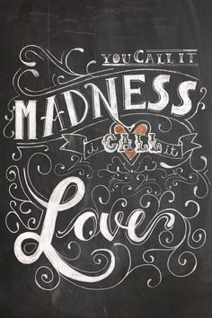 Lovesick - Typography by Keya Vadgama, via Behance