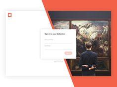 Art Platform - Login by Benjamin Krogh . . Design shop @instadesket  Office setup inspiration: @minimaloffices  Typography inspiration: @typedrawn  #ui #dribbble #ux #design #webdesign #graphic #uidesign #userinterface #minimal #graphicdesignui #inspiration #interface #appdesign #digital #graphicdesignuiweb #app #graphicdesign #creative #webdesigner #userexperience #uxdesign #designinspiration #dribbblers #uxigers #dailyinspiration #uitrends #uxigers #graphicdesignui #uitrends