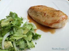 Pollo a la plancha al limón #Recetas #RecetasFáciles #Cena #CenaLigera #Dinner #Pollo
