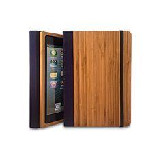 Bamboo iPad Air 2 Bookcase Wood iPad Air 2 Case Wood by Primovisto