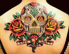 Sugar Skull tattoo  <3
