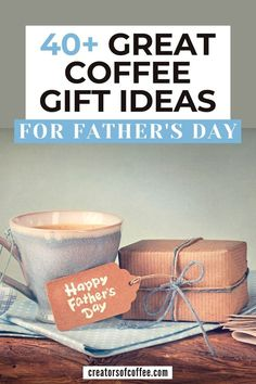 Looking for gift ideas for Dad for Father's Day? We share more than 40 of the best Father's Day gift ideas for the coffee loving dad in this article. Coffee Maker With Grinder, Best Coffee Grinder, Pour Over Coffee Maker, Best Coffee Maker, Making Cold Brew Coffee, How To Make Coffee, Coffee Lover Gifts, Coffee Lovers, Coffee Snobs
