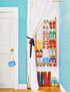 ¡Orden en casa! Ideas para zapateros