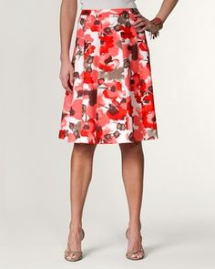 Floral skirt from Cold Water Creek