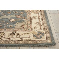 Candace Blue Oriental Wool Hand-Tufted Area Rug & Reviews | Joss & Main