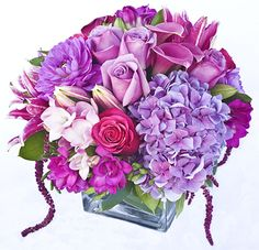 small square glass vase flower arrangements   Deep Roots Valentine's Day Gallery