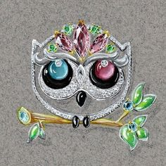 @tonyfuriondesigns pour @duodeciparis soutenez nous sur https://fr.ulule.com/duodeci/ #jewelrygram #jewelry #dessin #artist #luxe