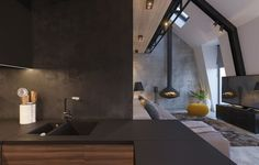 Attic+Conversion+Creates+A+Warm,+Contemporary+Home+(With+Floor+Plans)
