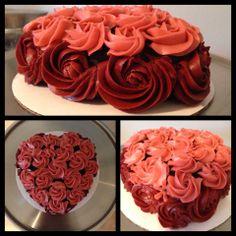 Cake of Roses