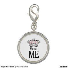 Royal Me - Pink Photo Charms