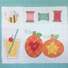 """1,105 Likes, 35 Comments - @beelori1 on Instagram: """"Four blocks from my Bee Happy Quilt...super Excited about the sew along in August!!! ...did you…"""""""
