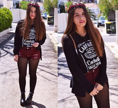 Id rather be at Coachella (by Catarina Marques) http://lookbook.nu/look/4773319-Bandy-Melville-Coachella-Version-Of-Jack-Daniels