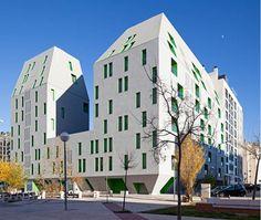 Rueda Pizarro - Social housing, Madrid.