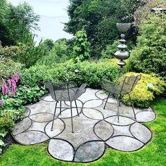 Lisa Nunamaker (@paper.garden.workshop) • Instagram photos and videos Landscape Plans, Landscape Design, Garden Design, Workshop, Garden Theme, Different Textures, Evergreen, Design Elements, Stepping Stones