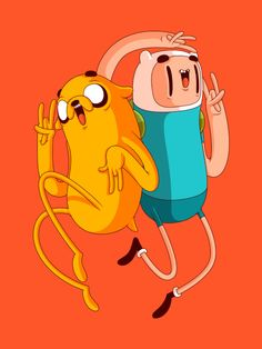 Recent illustration of Finn & Jake from Adventure TimeI also have the process video up on the tubes for anyone interested. You can check that out HERE