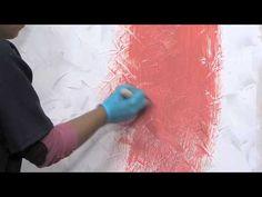 Acabado en Pared Textura Estuco Metalizado oro y perlas - YouTube