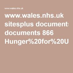 Work book for individuals with eating disorders www.wales.nhs.uk sitesplus documents 866 Hunger%20for%20Understanding%20%20-%20Workbook.pdf