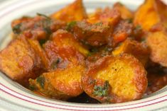 Greek Recipes, Tandoori Chicken, Side Dishes, Curry, Veggies, Meat, Ethnic Recipes, Food, Lovers