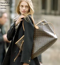 Louis Vuitton Neverfull    ....Neverfull until I get my hands on it that is.